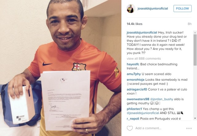 jose aldo instagram