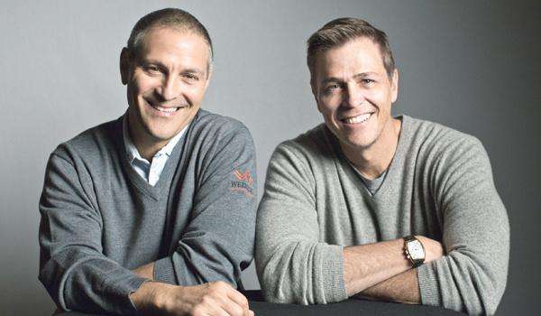 Ari Emanuel og Patrick Whitesell.