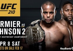 Daniel Cormier vs. Anthony Johnson 2 UFC 210