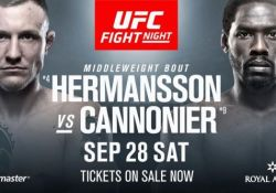 UFC Hermansson Cannonier