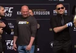 Khabib Tony UFC 249