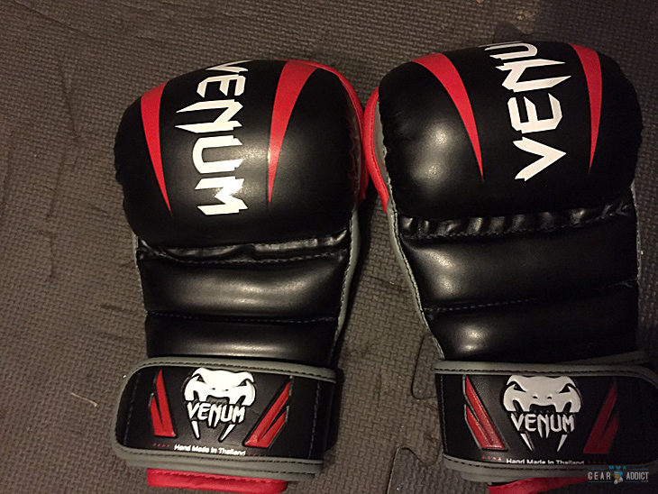 Venum, MMA, sparring, gloves, hybrid