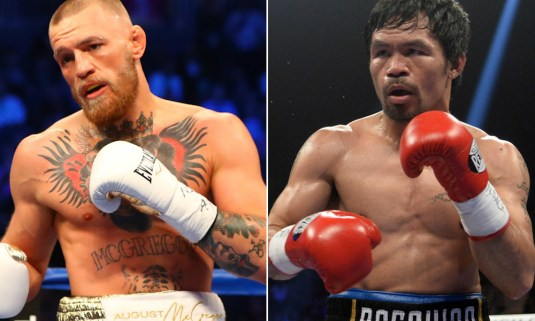 Conor McGregor vs. Manny Pacquiao: McGregor says it's happening