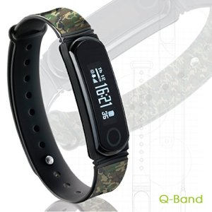 Q-Band EX Fitness Tracker/Band Review