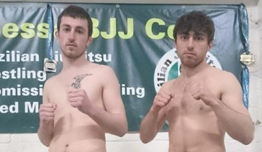 Arann and Jack Maguire battle zone 15.