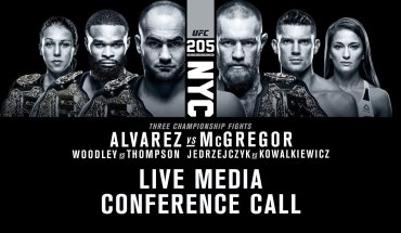 UFC 205: Eddie Alvarez vs. Conor McGregor