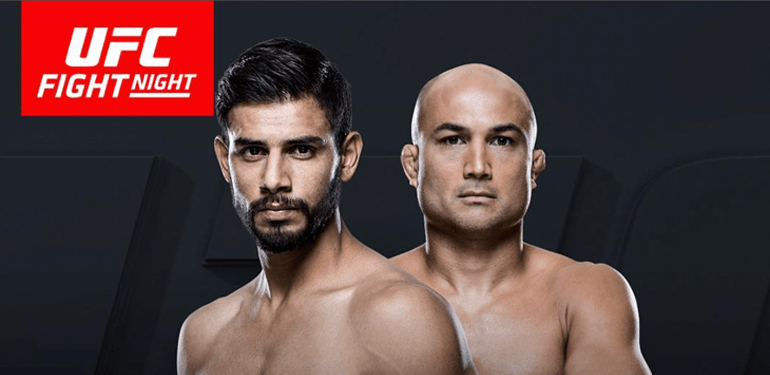 This Saturday night it's a clash of eras as Yair Rodriguez takes on BJ Penn.