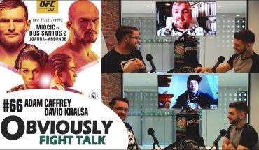 UFC 211 preview show.