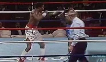 Floyd Mayweather Senior footage.