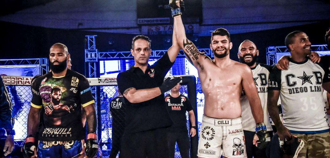 Willian Cilli finaliza no Batalha MMA