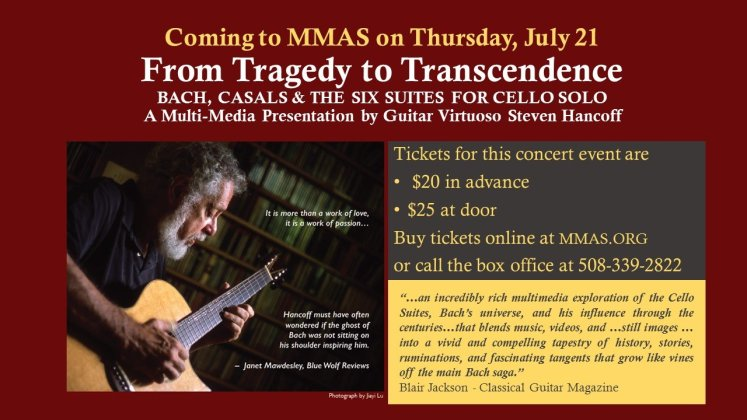 Coming to MMAS on Thursday, July 21corrected
