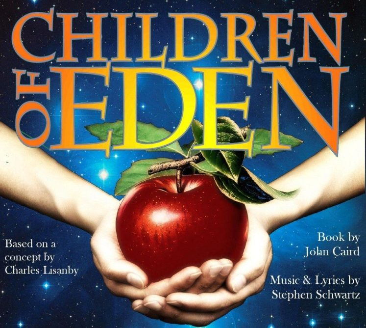 Image with text : Children of Eden