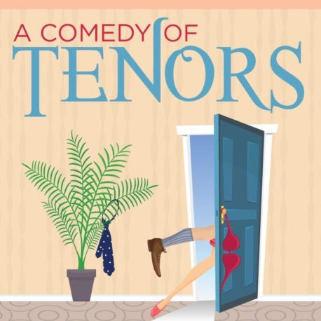Image with text: A Comedy of Tenors