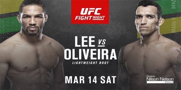 UFC Fight Night 170: Lee vs Oliveira