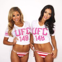 Arianny Celeste and Brittney Palmer in video and photos on MMA SWISS