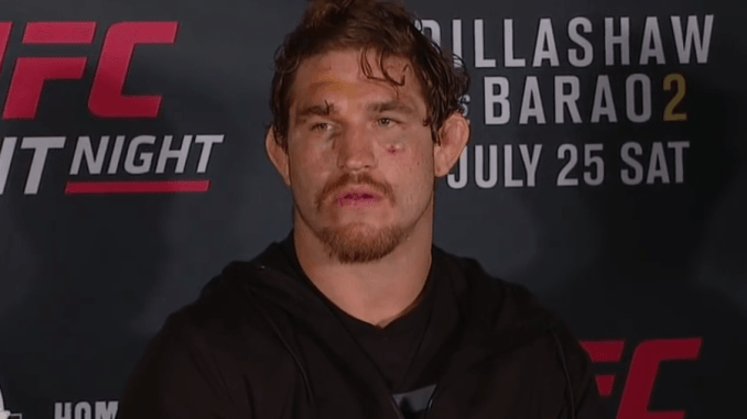 UFCs Tom Lawlor suspended by USADA for two years after