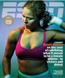 Rousey ESPN Magazine cover