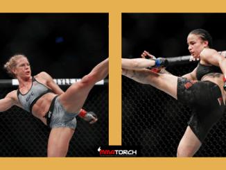 Holly Holm vs. Raquel Pennington