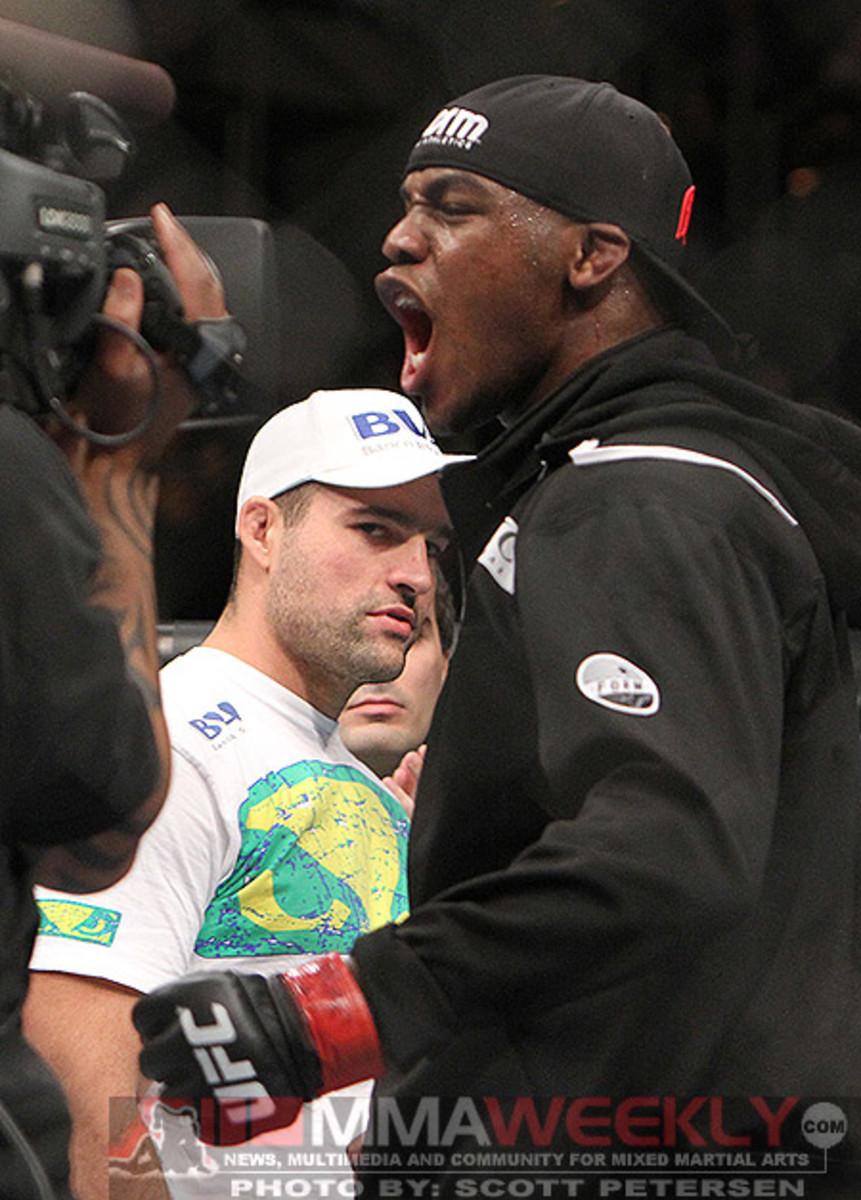 Jon Jones at UFC 126