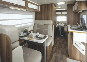 Auto Roller 747 6 Berth Motor Home For Hire MMCHIRE