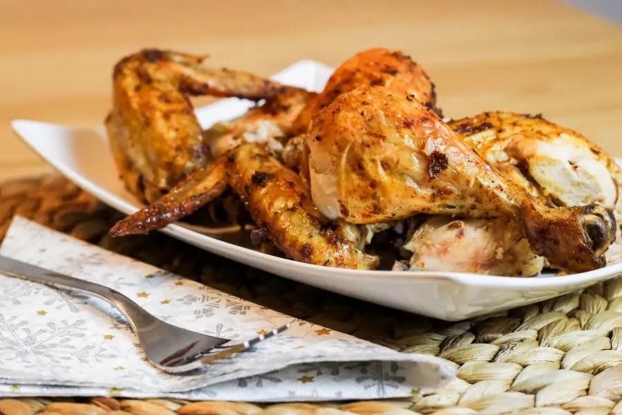 Jak upiec całego kurczaka i tego nie spieprzyć - wersja fit bez tłuszczu ;)