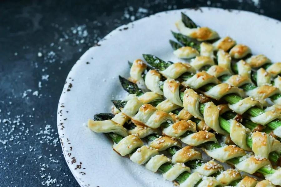 Szparagi w cieście francuskim - tego nie da się zepsuć