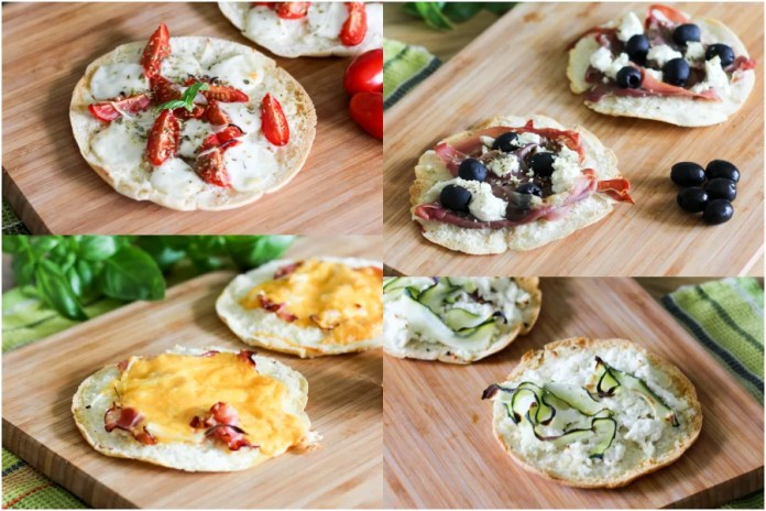 Ekspresowa mini pizza w 4 wersjach