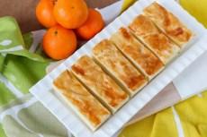 Pomarańczowe ciasto z kaszą manną