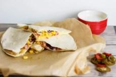 Quesadillas z kurczakiem