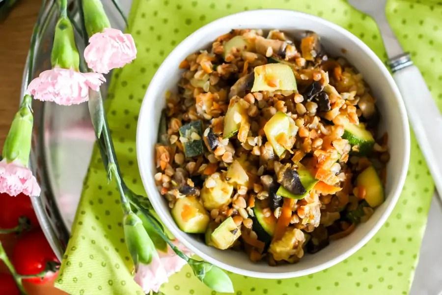Kaszotto z cukinią i warzywami