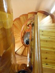 5 Looking downstairs