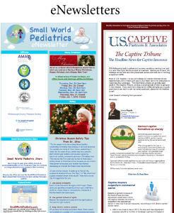 My Marketing Departments eNewsletter campaigns