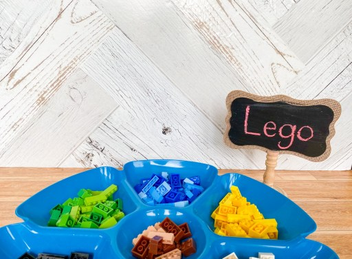 Lego activity for the first day of grade 1