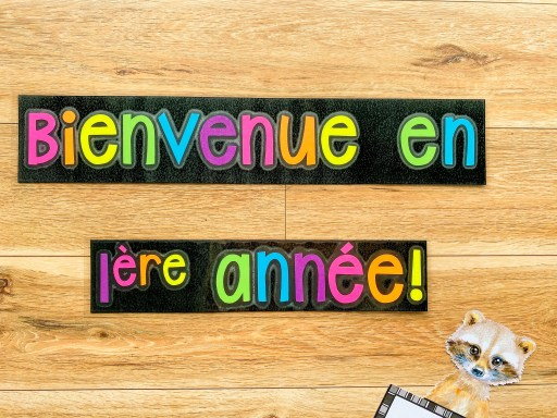 Welcome to Grade 1 French Immersion