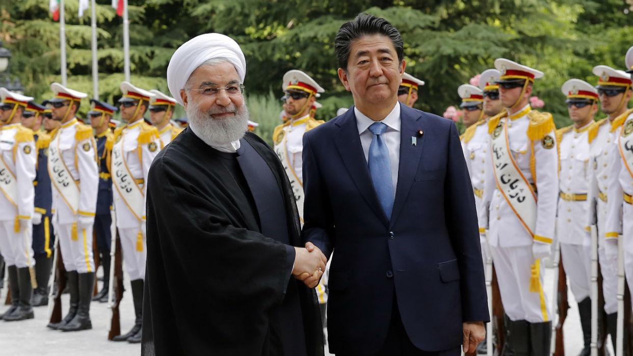 Resultado de imagen de Shinzo Abe visita Iran