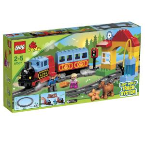 Купить LEGO DUPLO Конструктор Мой первый поезд 10507 - детские товары LEGO в интернет-магазине OZON.ru, цена lego duplo конструктор мой первый поезд 10507