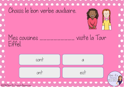 free-French-resource-passe-compose-activity