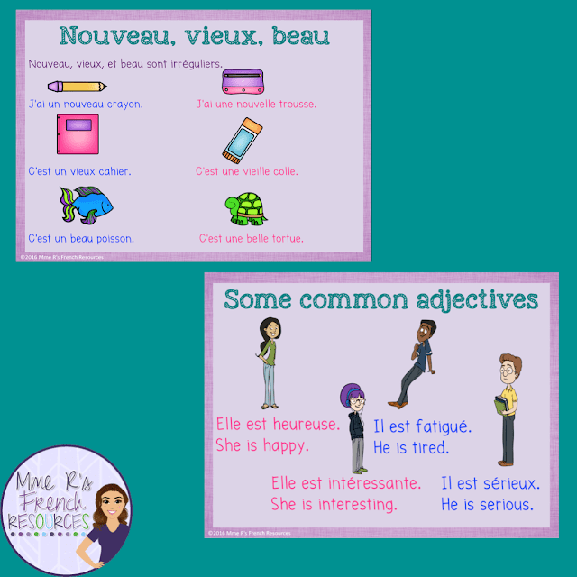 French-adjectives-PowerPoint-show