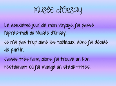 This fun passé composé project is a great way to assess French speaking and writing.