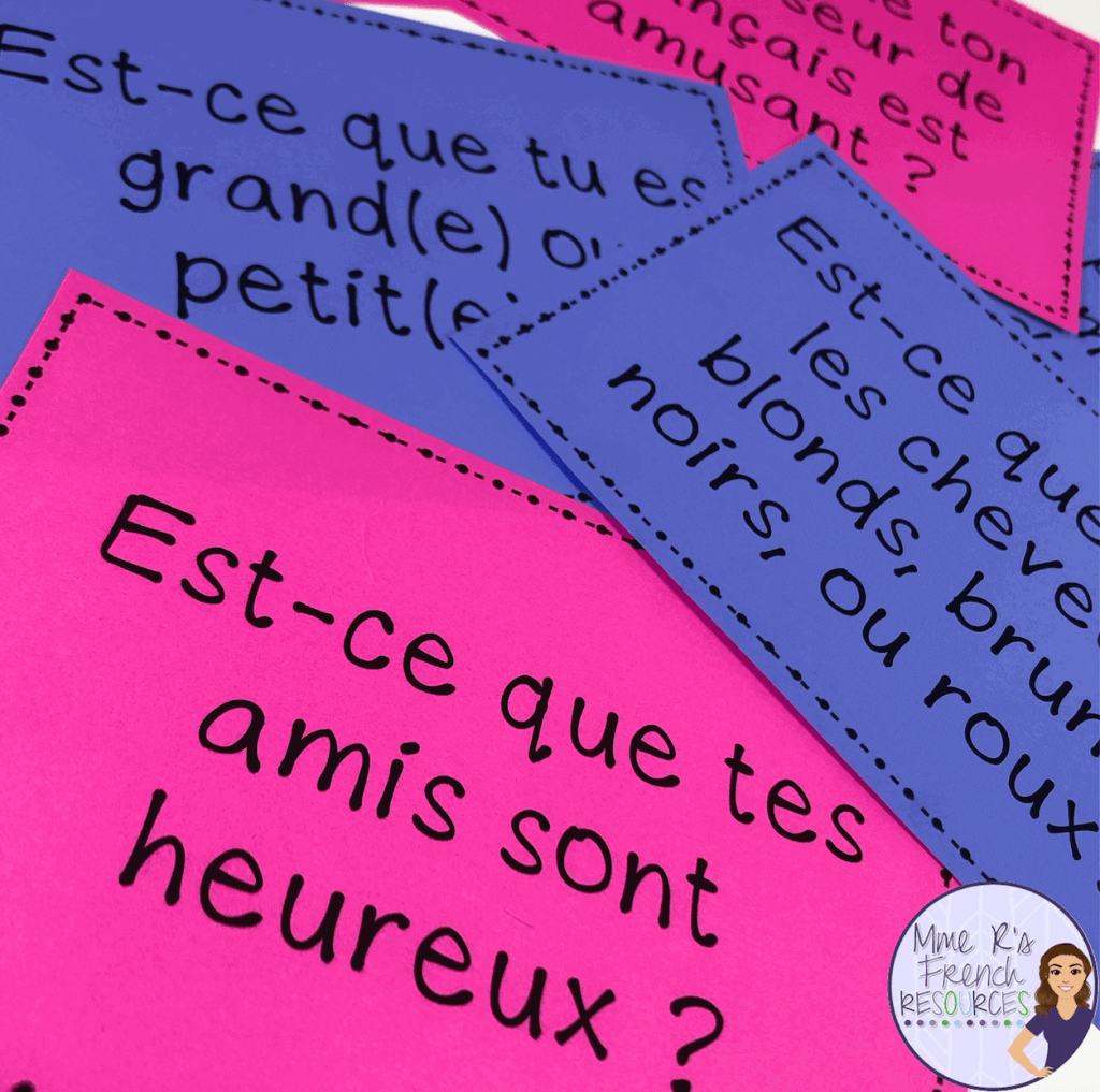 French-adjectives-speaking-activity