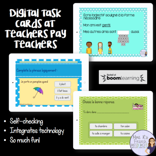 Boom Learning digital task cards now available on TpT!