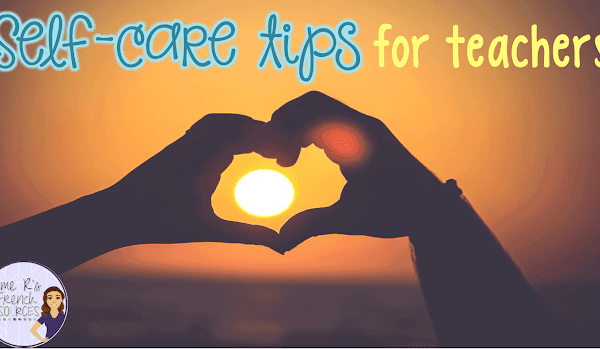 Self-care tips for teachers