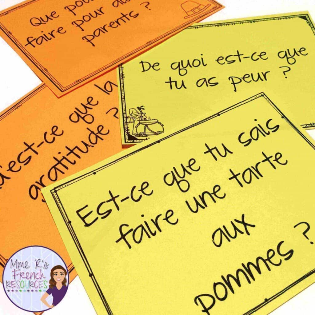 French-fall-speaking-prompts