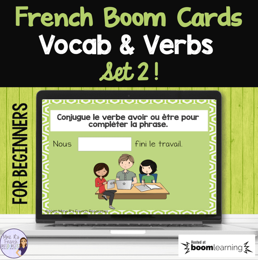 French-verb-boom-cards