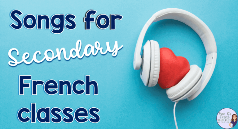 songs-french-class