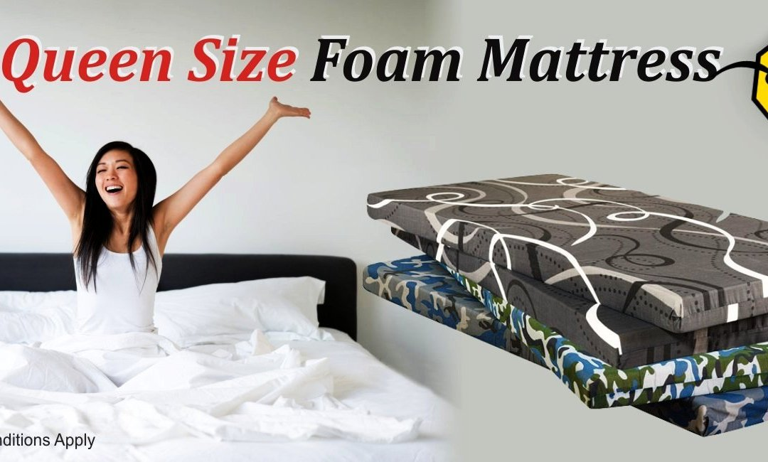Canada150 Deal – Queen Size Foam/Sponge Mattress – Just for $99