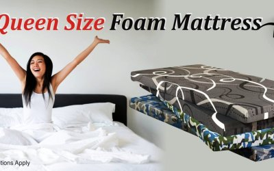 Canada150 Deal – Queen Size Foam/Sponge Mattress – Just for $99