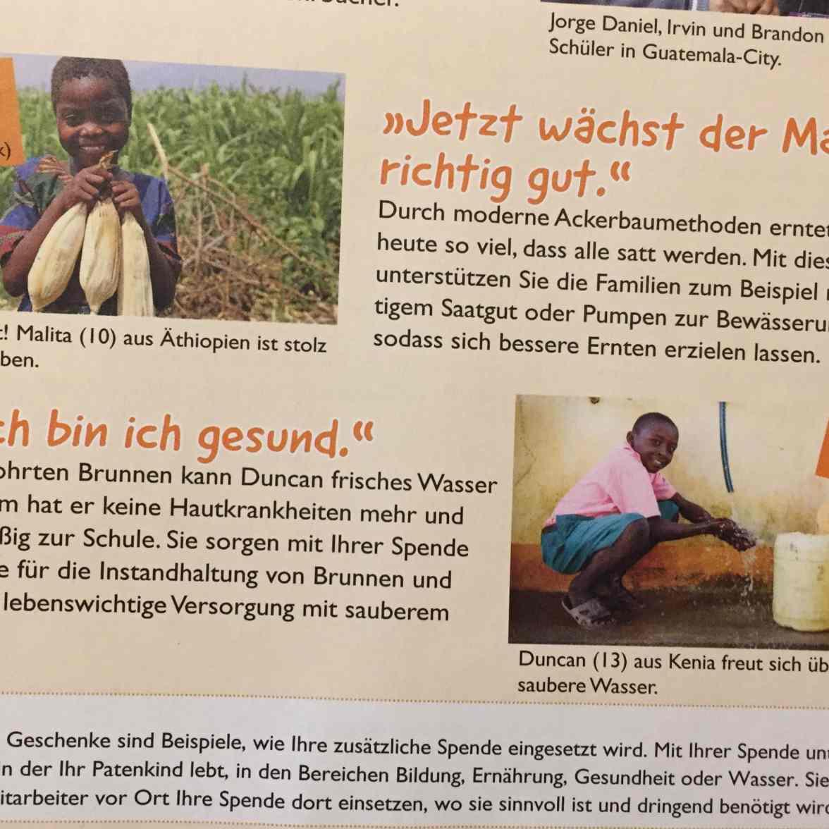 Unser Patenkind Aus Tansania Erfahrungen Mit World Vision M M