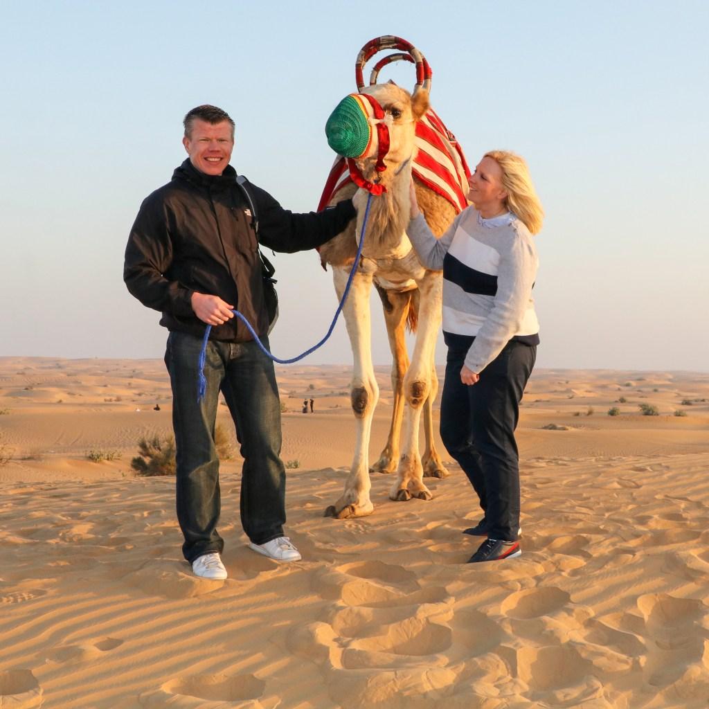 VAE: Kamelritt durch die Wüste (Ausflug ab Dubai)