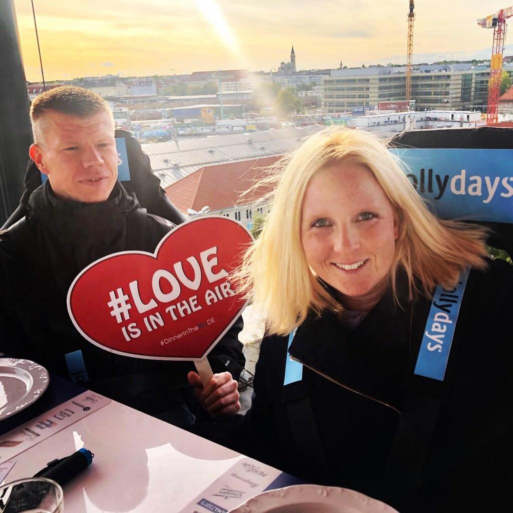München: Dinner in the Sky 2019 – Unsere Erfahrungen mit Jollydays